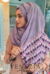 SURA İPEK Anadolu Koleksiyonu Cotton Şal 31313-004 - Thumbnail
