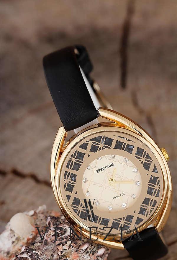 VENEZİA SAAT - Venezia Deri Kordonlu Bayan Saat BS953 (1)